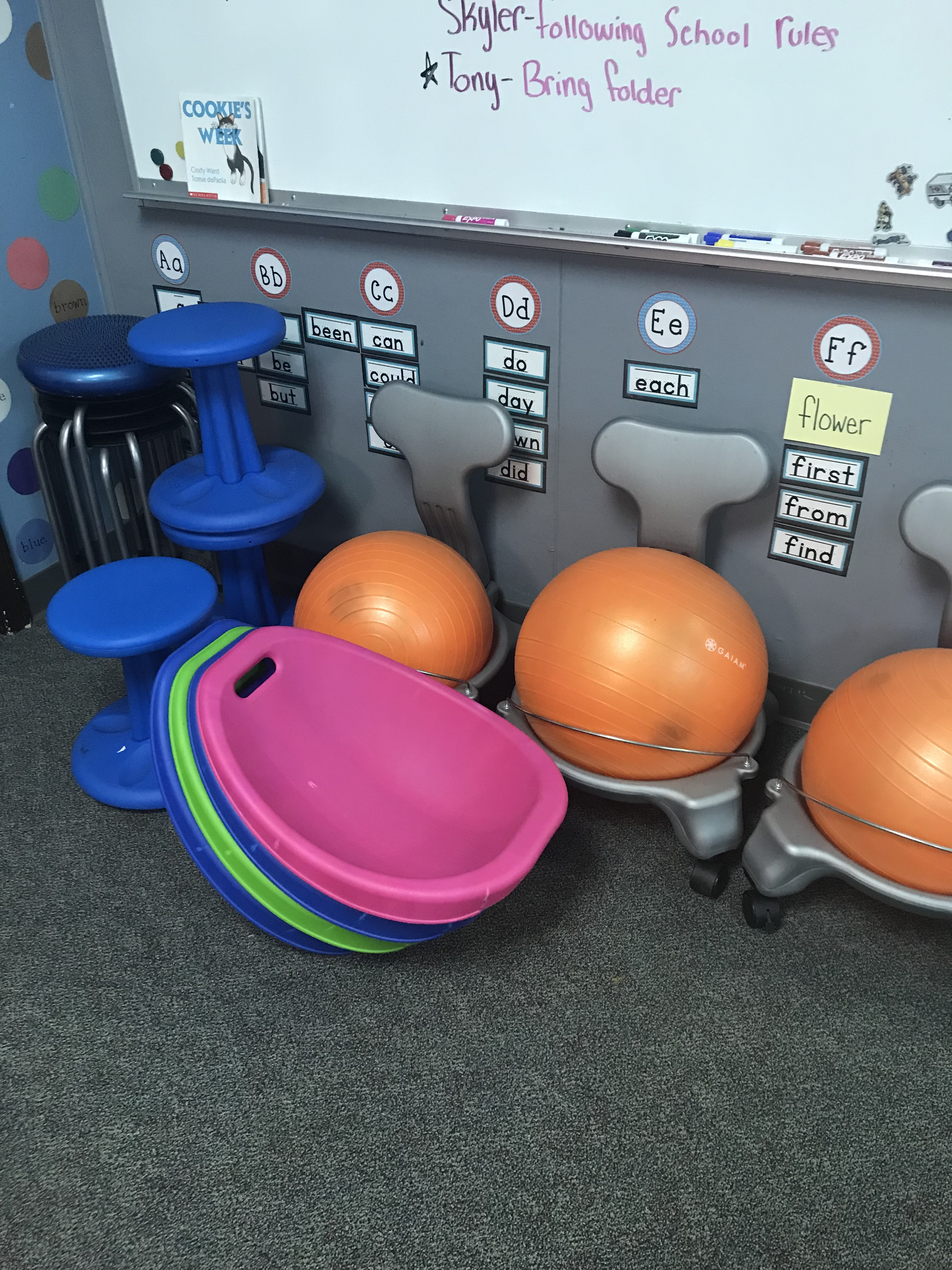 Flexible Seating at PACE Academy